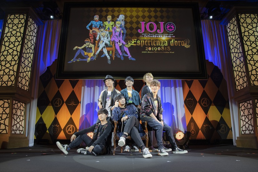 "Event report: a total of 4,500 fans rushed into the day and night cast gathering of ""JoJo's Golden Wind"", featuring Kensho Ono and other cast members"