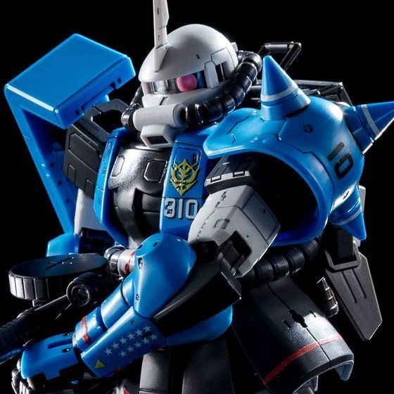 "「Gundam」Yuma Lightning Exclusive Zaku II,  has become  Gunpla (Gundam plastic model)! Let's take a look at the color, armor and armament of ""Blue Thunder Lightning"""