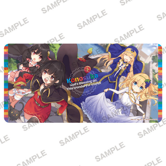 Konosuba My Name Is Megumin Birthday On Dec 4 Explosion Fair A Birthday Commemoration With The Red Mage Clan Goods Anime Anime Global