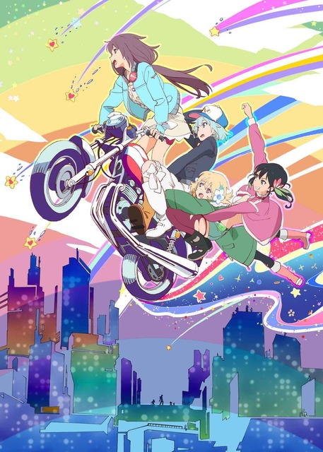 """Girls×youtu×road movie! All episodes of  """"Rolling☆Girls"""" will be broadcast on Nico Nico Live Stream"""