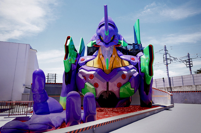 """World's first attraction """"Ride on Eva"""" from """"Evangelion""""! """"Kyoto base"""" will be open in Toei Kyoto Studio Park"""