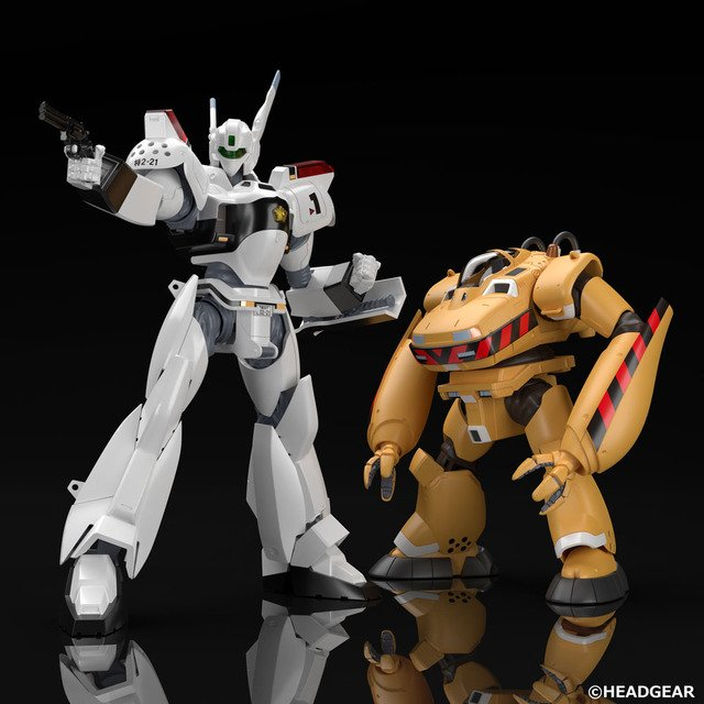 Mobile Police Patlabor Ingram Bulldog Have Become 1 60 Scale Plastic Models Keep Both Police Vs Work Labor At Hand Anime Anime Global