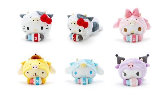 Hello Kitty 2021 New Year Zodiac Ox Plush Doll Sanrio Japan
