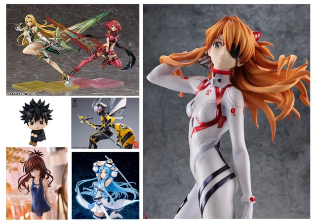 """""""Evangelion: 3.0+1.0: Thrice Upon a Time"""" Asuka in a White Plug Suit Takes the Top! """"AmiAmi"""" April 2021 Figure Pre-order Ranking"""""""
